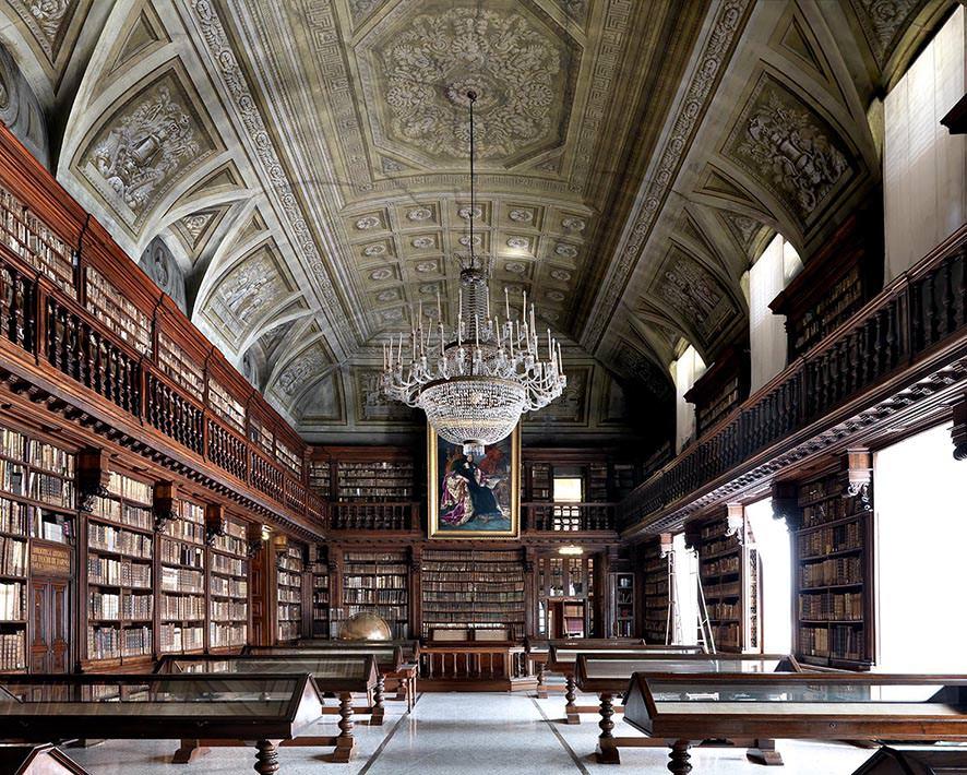 Biblioteca Braidense, Milano 2012, © MassimoListri