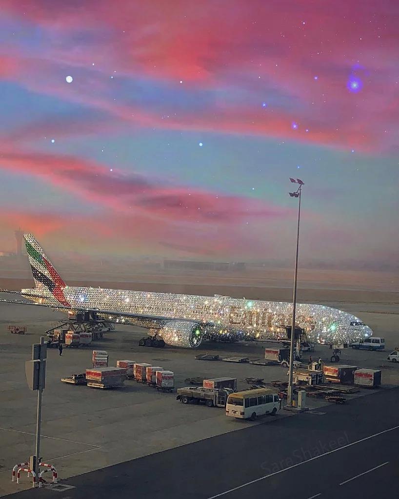 sara shakeel per emirayes airline