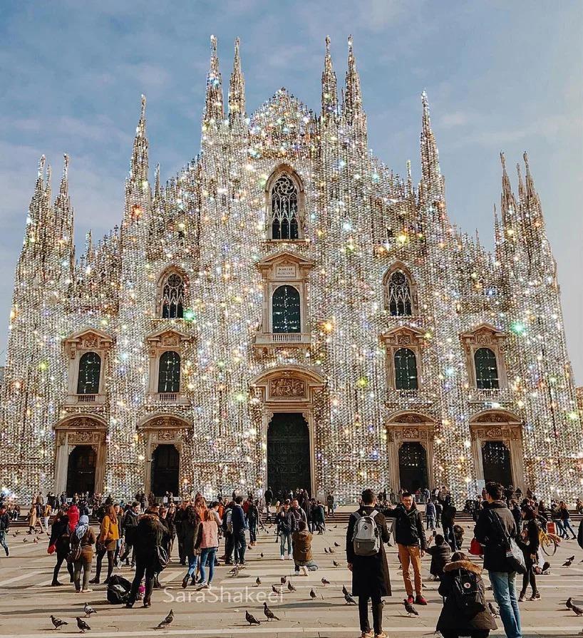 omaggio a milano dopo un viaggio nella città del nord-italia di sara