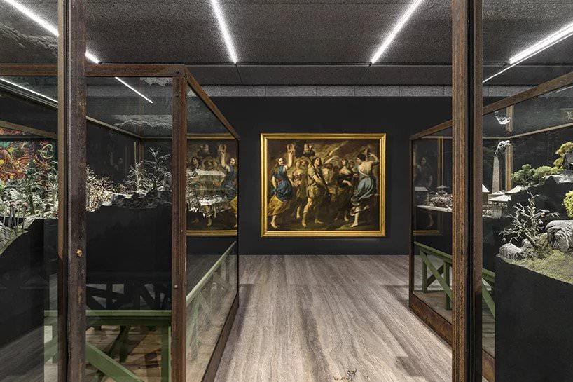 exhibition view of sanguine: luc tuymans on baroque; photo delfino sisto legnani and marco cappelletti, courtesy fondazione prada