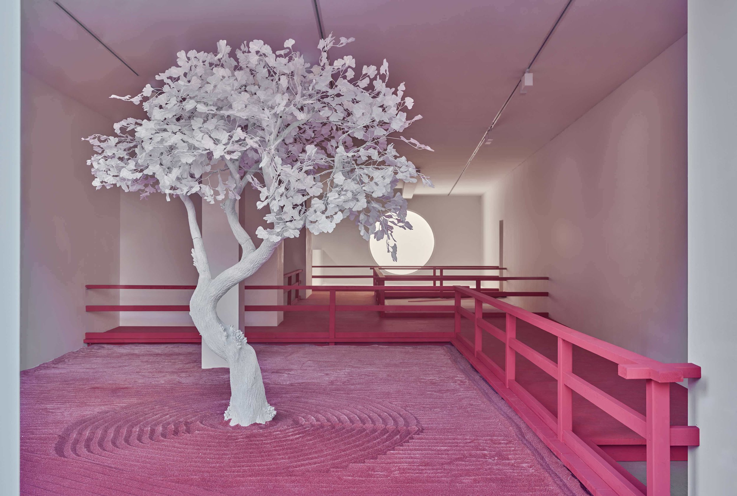 daniel arsham, lunar garden alla galleria ron mandos