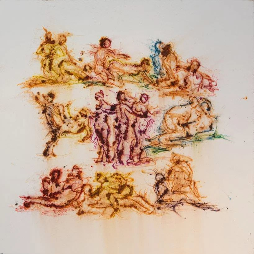 cai guo qiang, study for pompeii no. 2 (2018); photo by yvonne zhao, courtesy cai studio