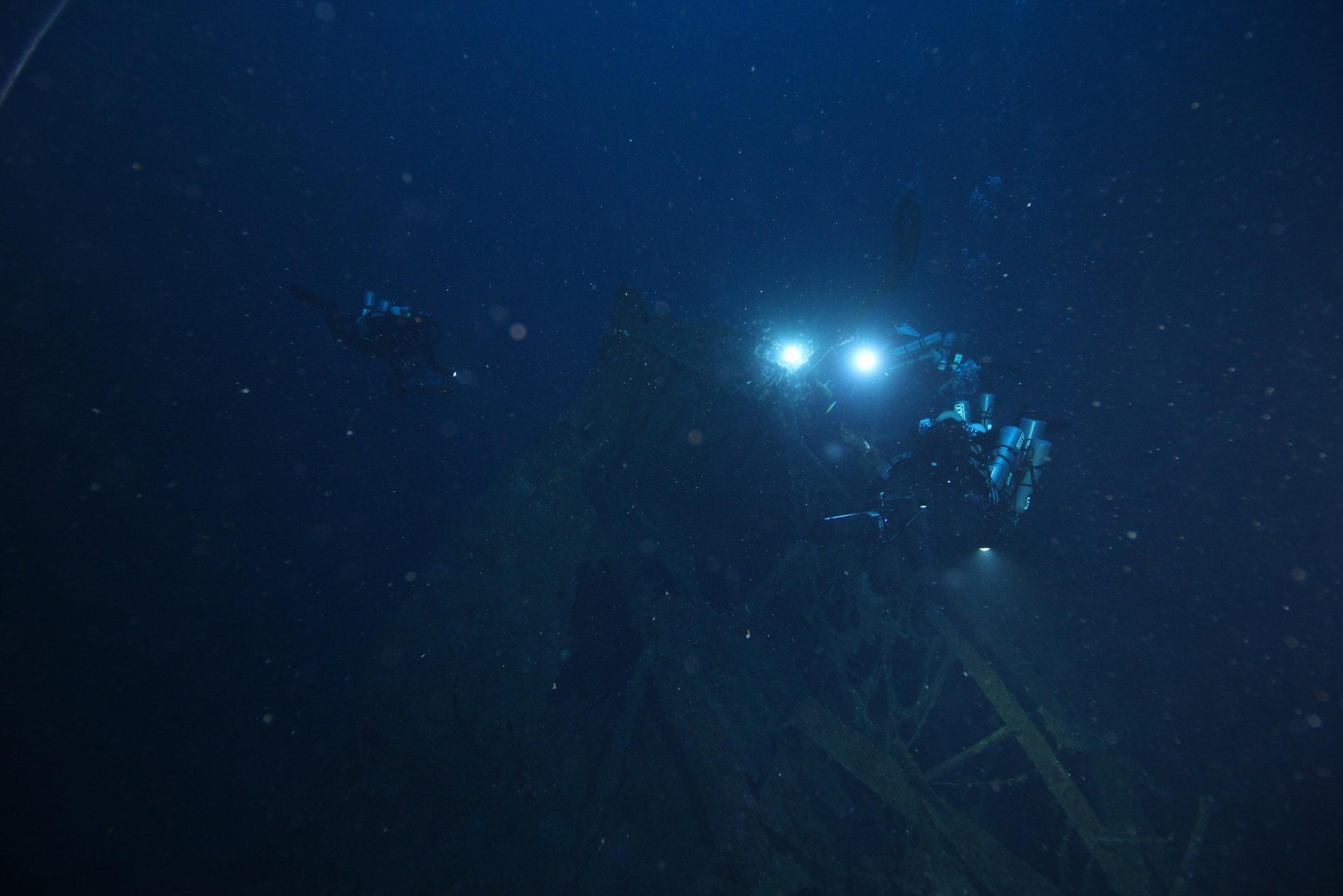 Relitto del piroscafo Città di Milano, Filicudi. Foto:Global Underwater Explorers