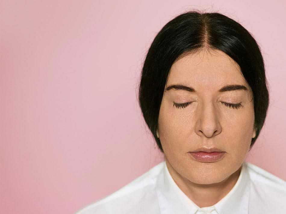 Marina Abramovic photo courtesy CSW