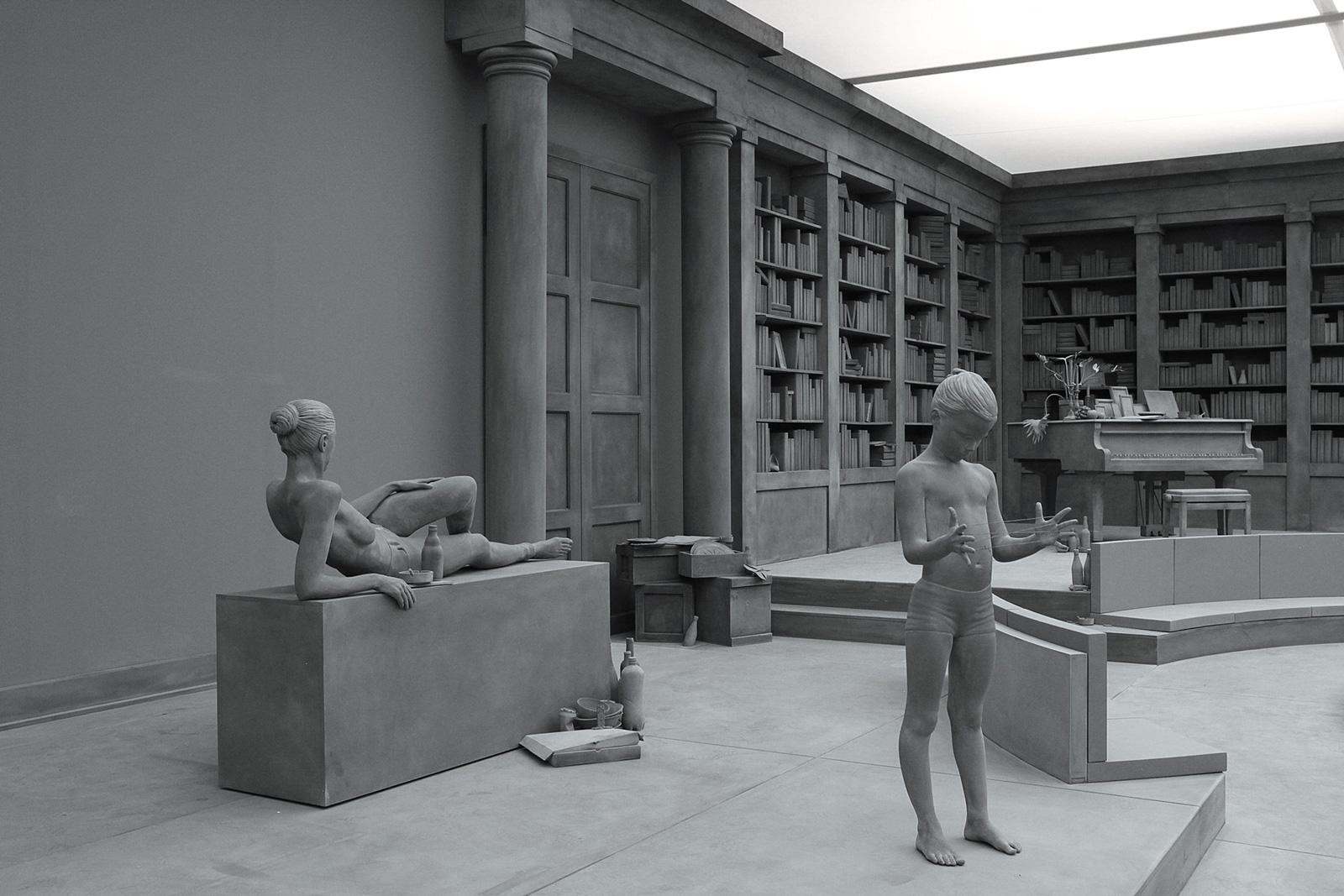 Hans Op de Beeck, The Collector's House, sculptural installation, 2016