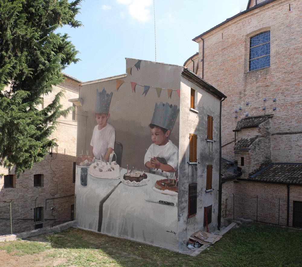 Separación De Poderes, Monte San Giusto (Italia)