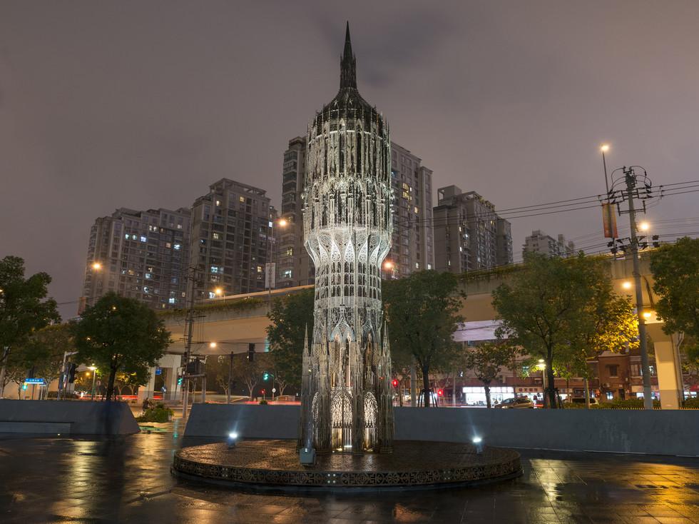 Wim Delvoye, Tour (Shanghai, 2010).Courtesy of Studio Wim Delvoye