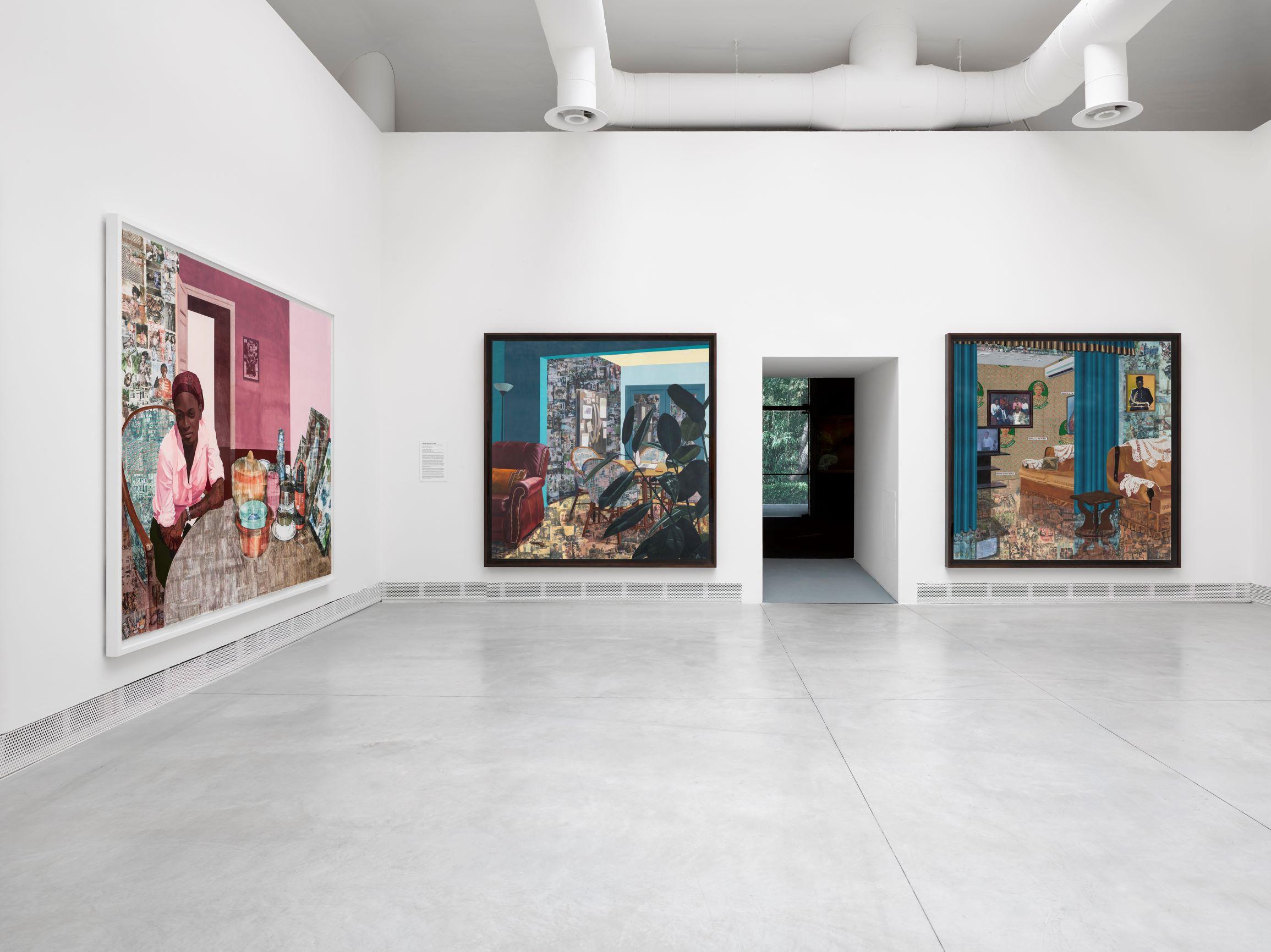 Njideka Akunyili Crosby ai Giardini, Biennale 2019