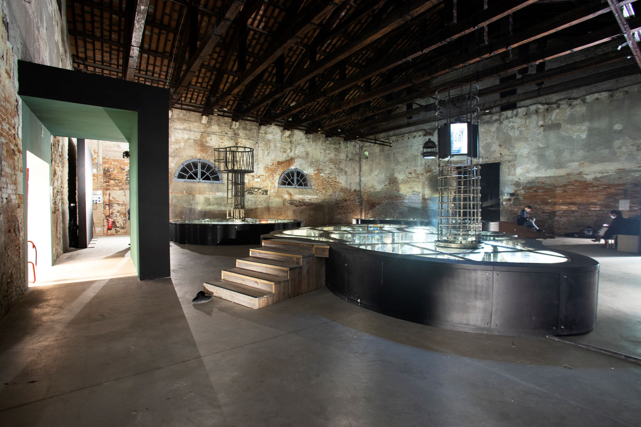 Pavilion of PHILIPPINES, Mark Justiniani, Island Weather. Photo by: Italo Rondinella. Courtesy: La Biennale di Venezia