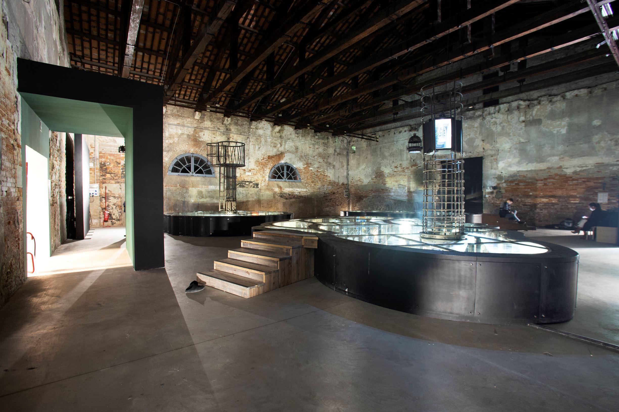 Pavilion of PHILIPPINES, Mark Justiniani, Island Weather. Photo by: Italo Rondinella. Courtesy: La Biennale di Venezia
