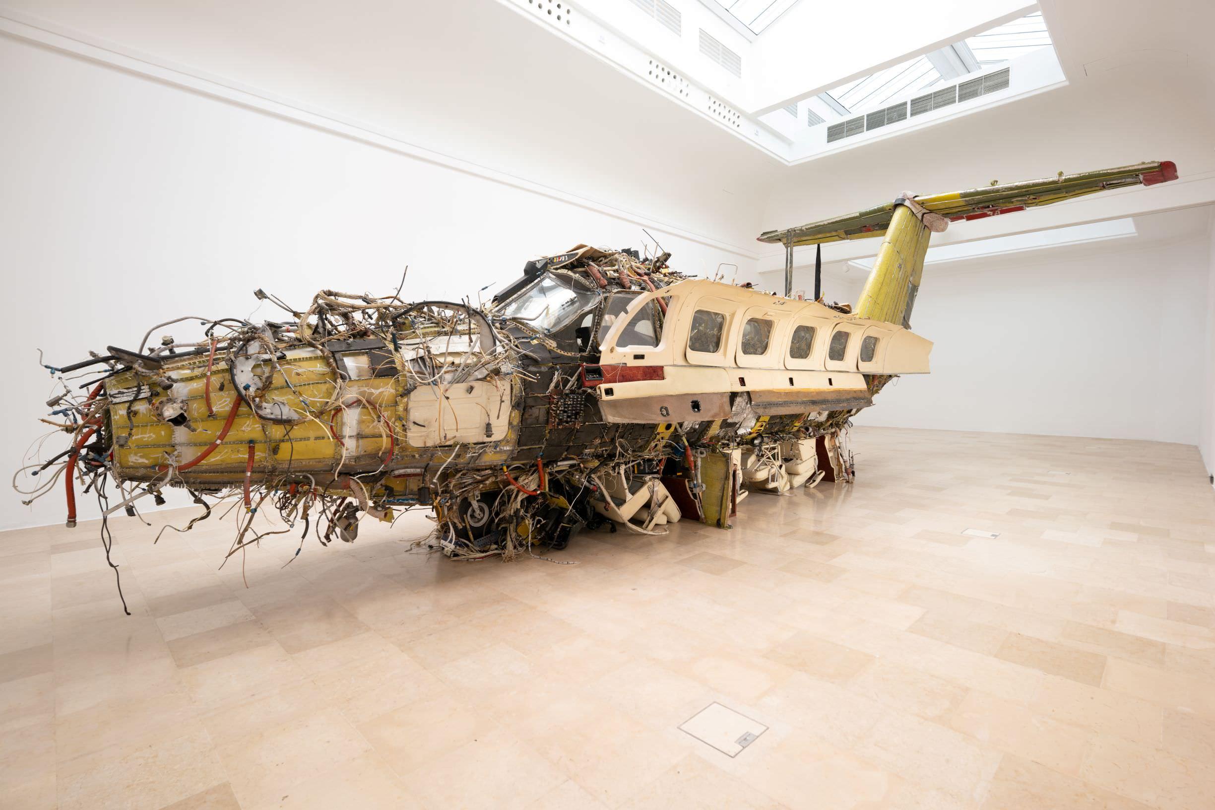 Flight, sculpture by Roman Stańczak at the Polish Pavilion, exhibition documentation, 2019, photo: Zachęta – National Gallery of Art/Weronika Wysocka.