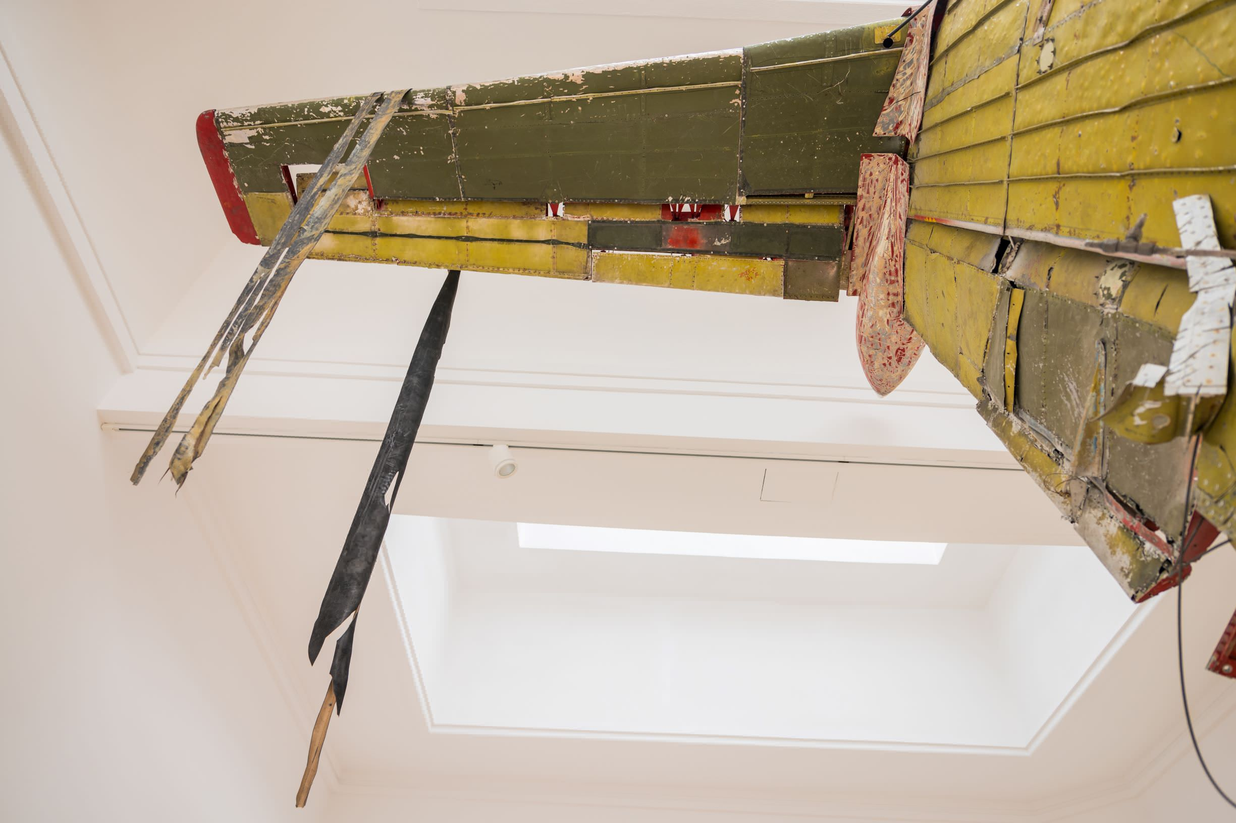 Flight, sculpture by Roman Stańczak at the Polish Pavilion, exhibition documentation, 2019, photo: Zachęta – National Gallery of Art/Weronika Wysocka.