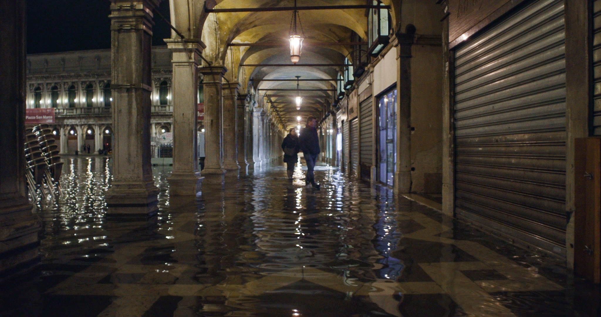 Acqua alta a Venezia. Film Still
