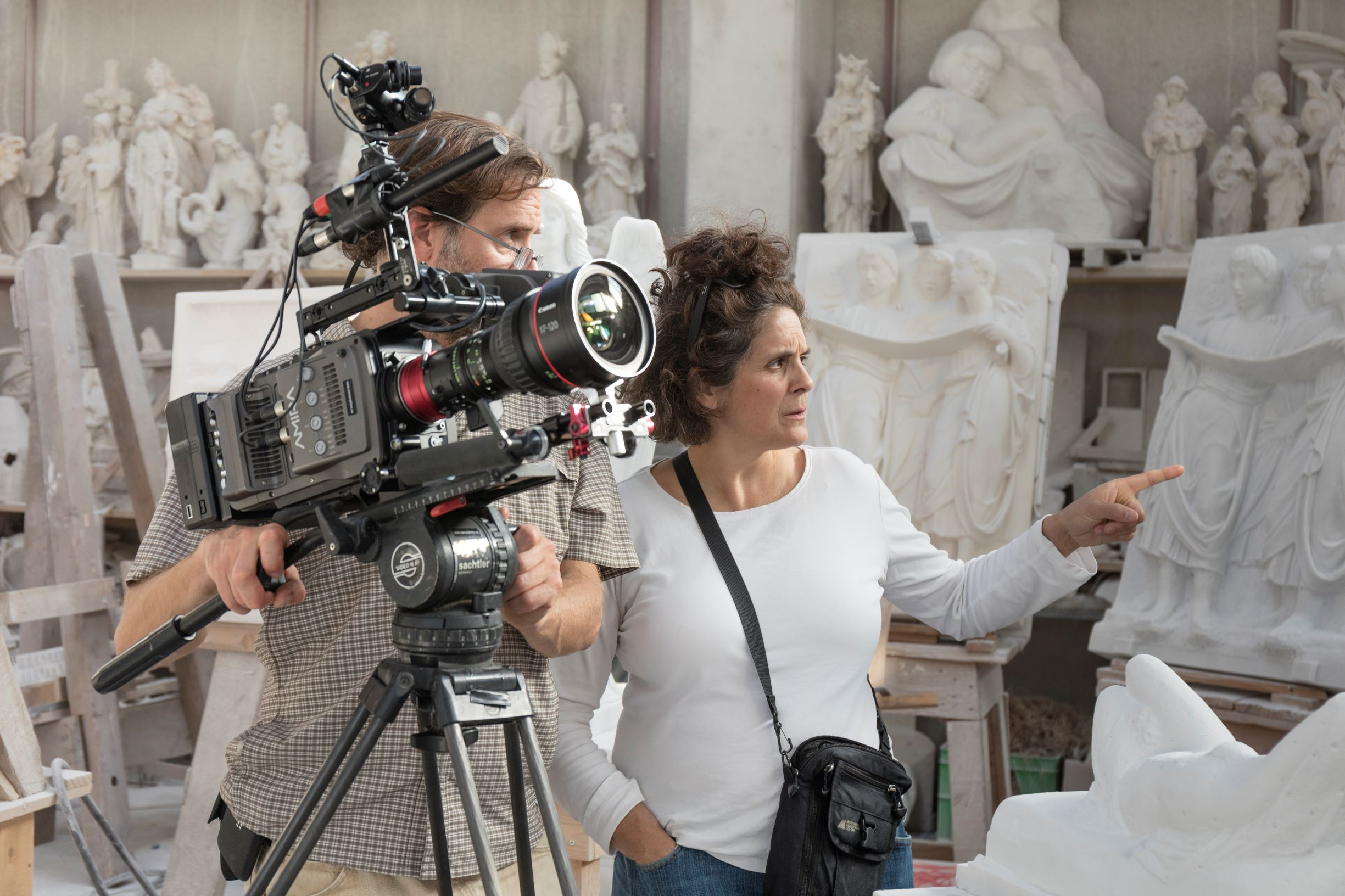I registi Jennifer Baichwal e Nicholas de Pencier