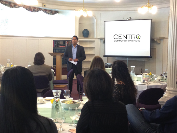 Arturo Noriega, Founder and Executive Director of Centro Community Partners.