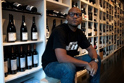 Andre Mack, founder of Mouton Noir Wines and keynote speaker at Behind the Business Conference.