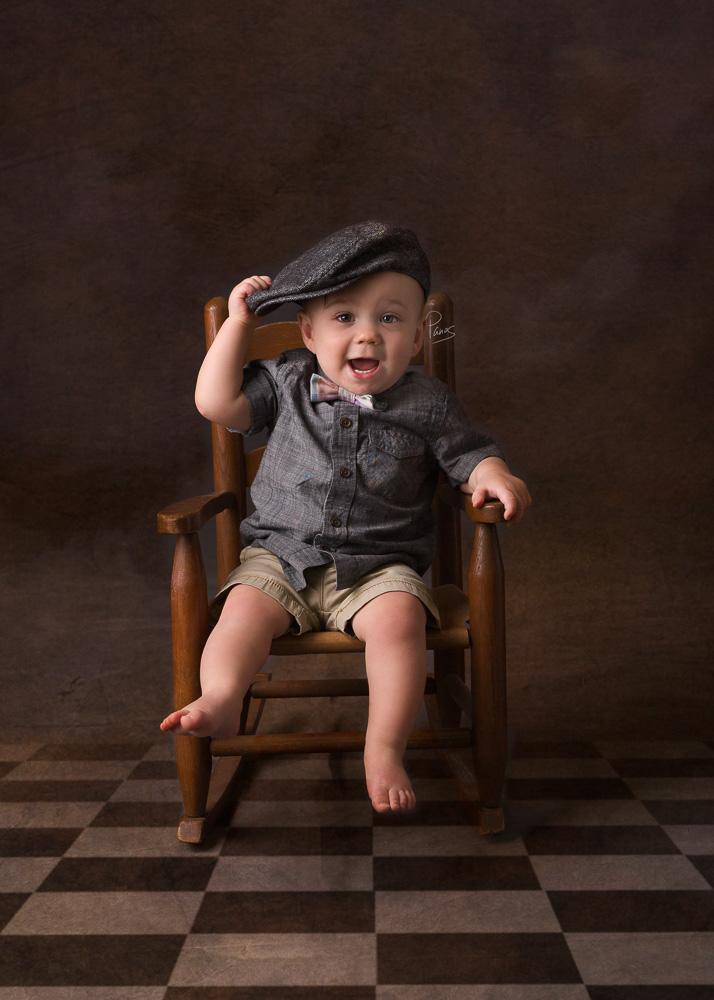 Baby boy portrait package.