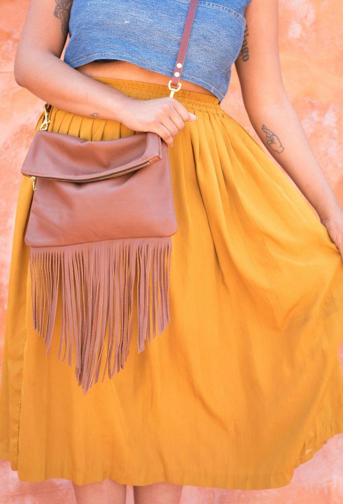The Artemisia Fringe Bag