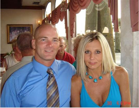 Candy and Joe after meeting in 2005. Courtesy: ABC News