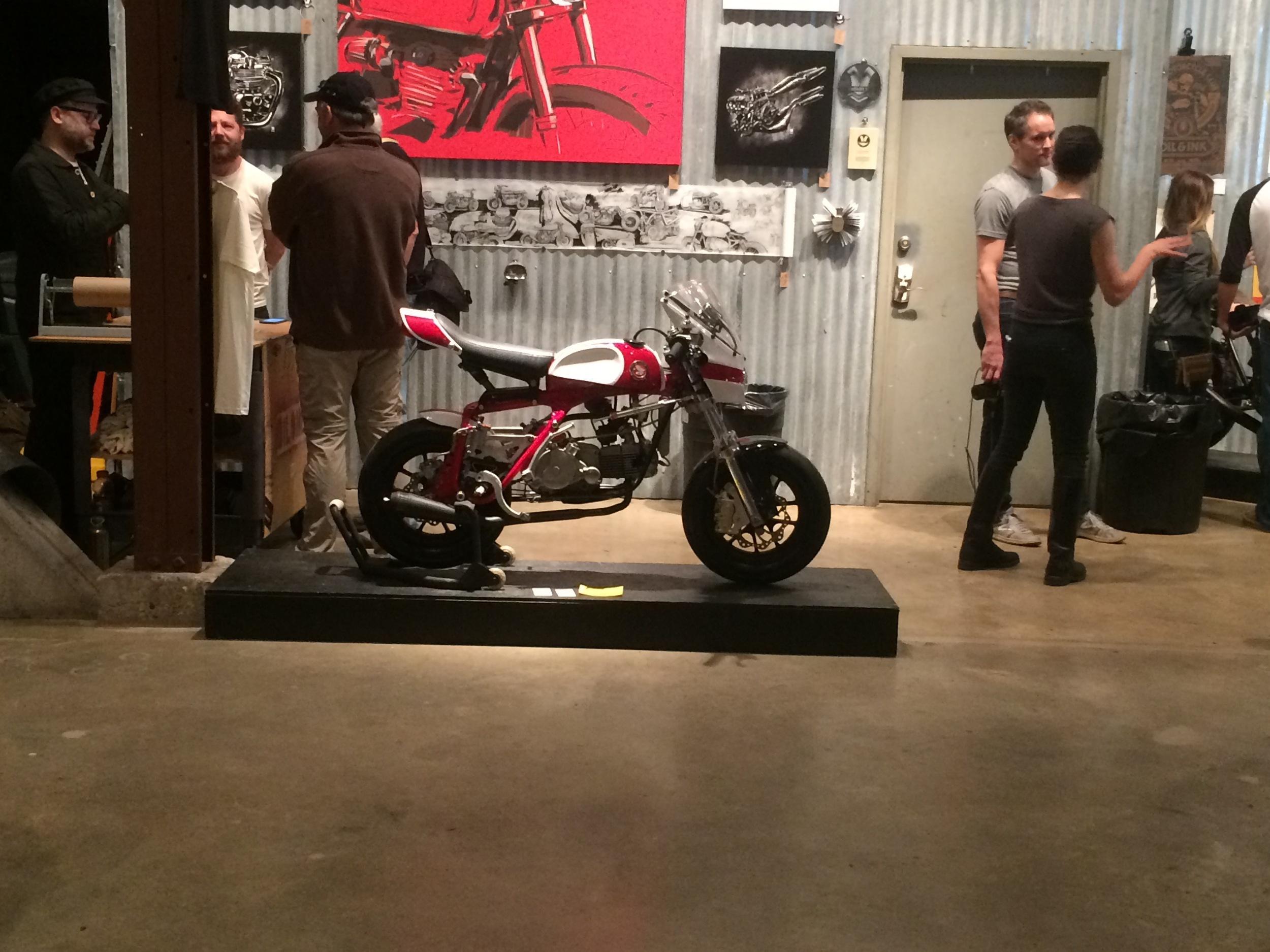 Z50 Magnum at the Handbuilt show.