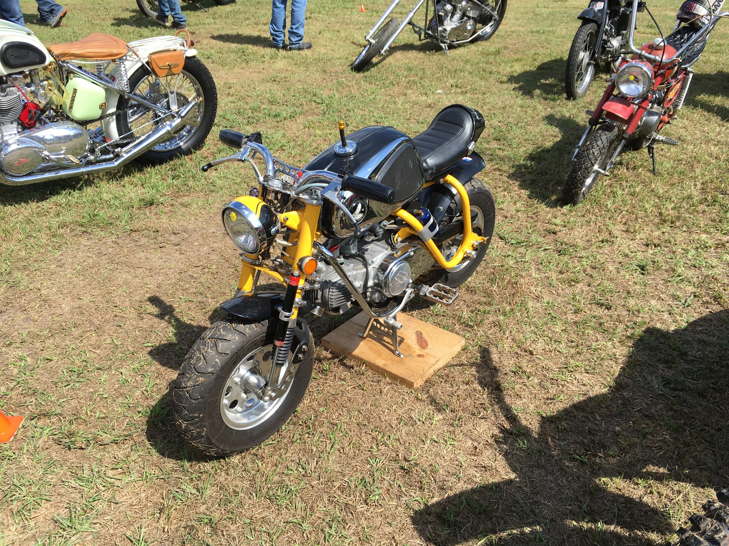 and first place went to the 1971 Super 50 Cafe. This bike had not been run in a while and was brought back to good running shape.
