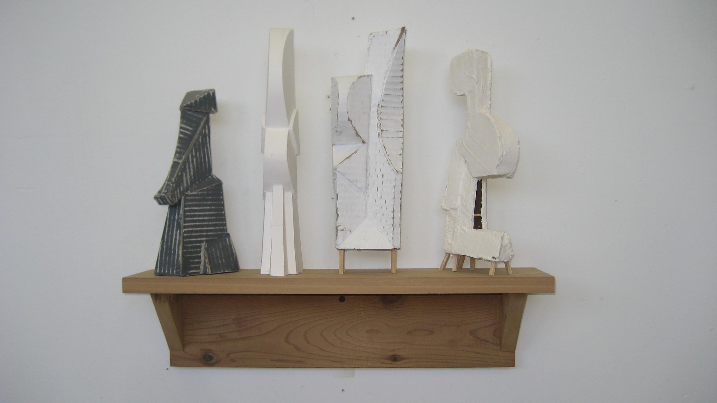 four sculpturettes.JPG
