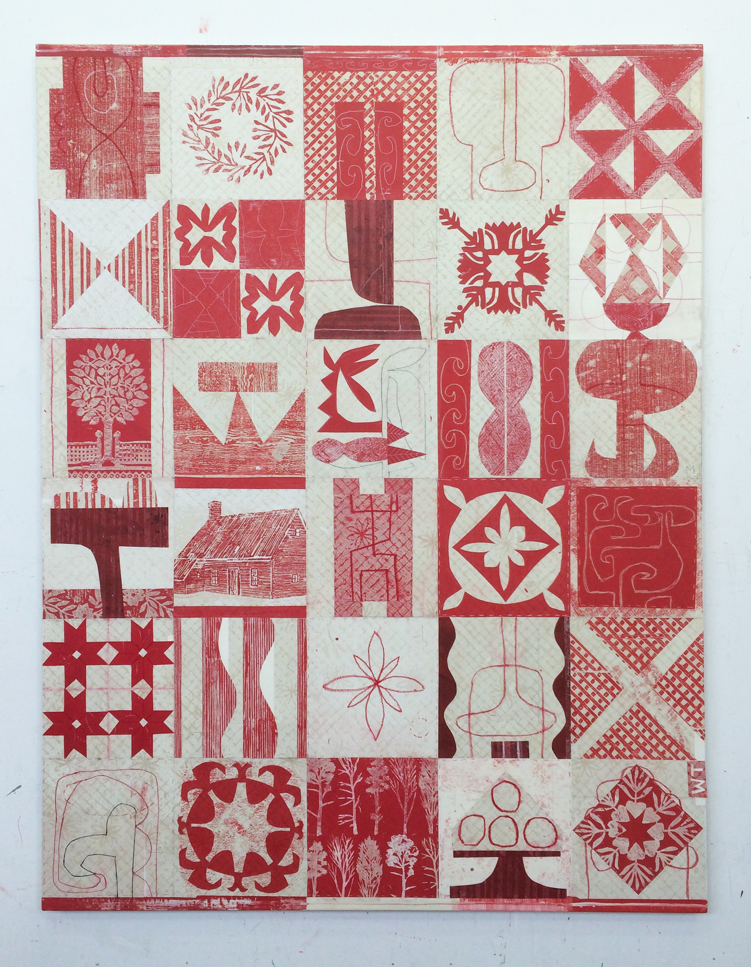 The Red Quilt
