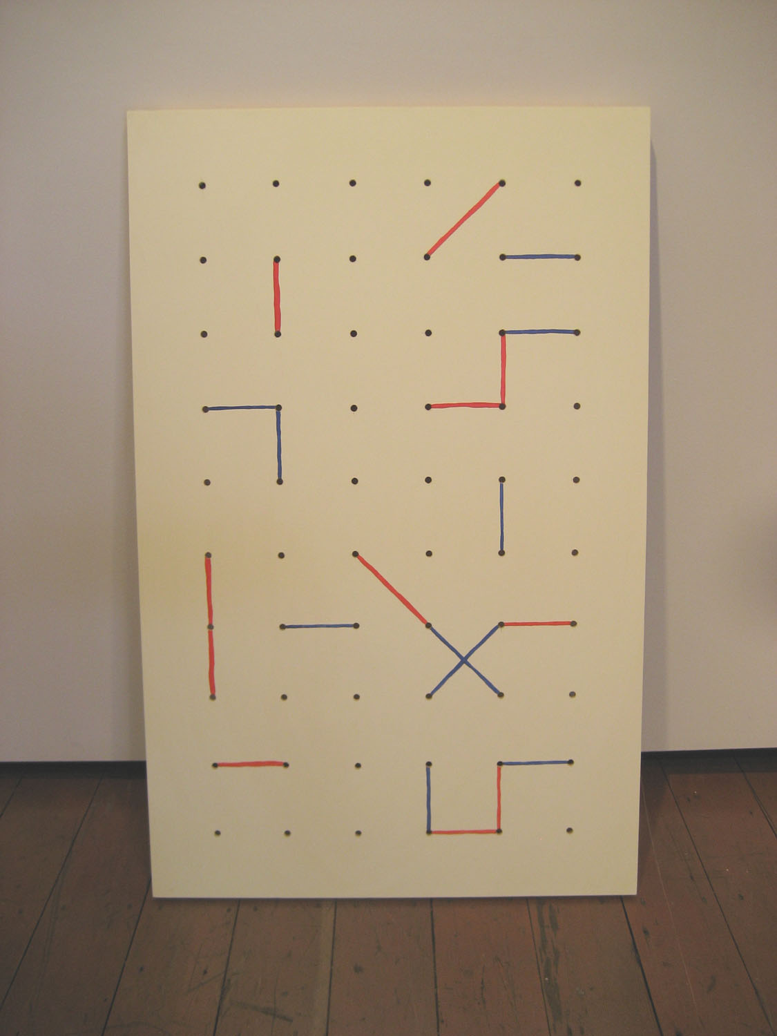 Pegboard painting