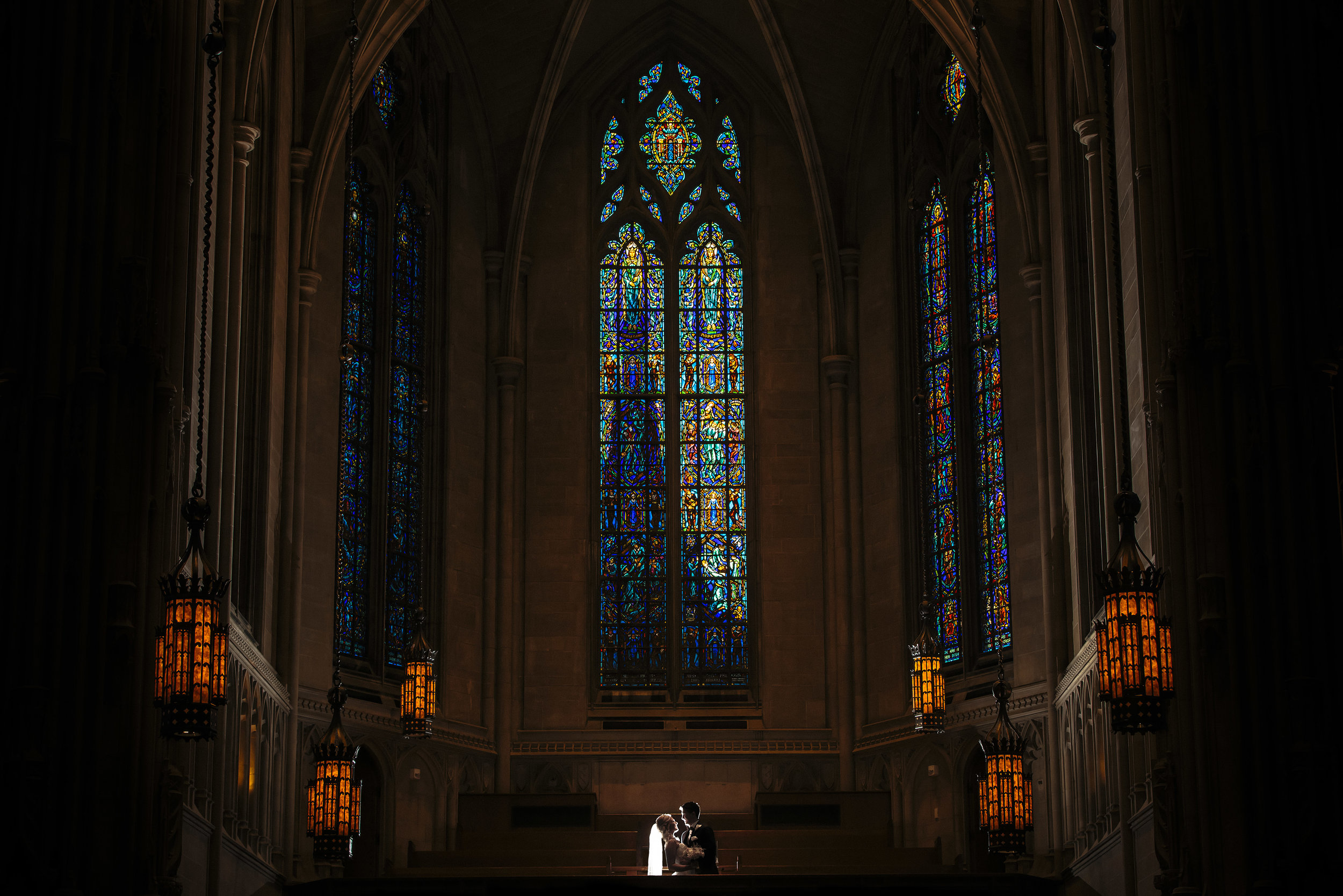 Heinz Chapel, Pittsburgh, PA Wedding Photography