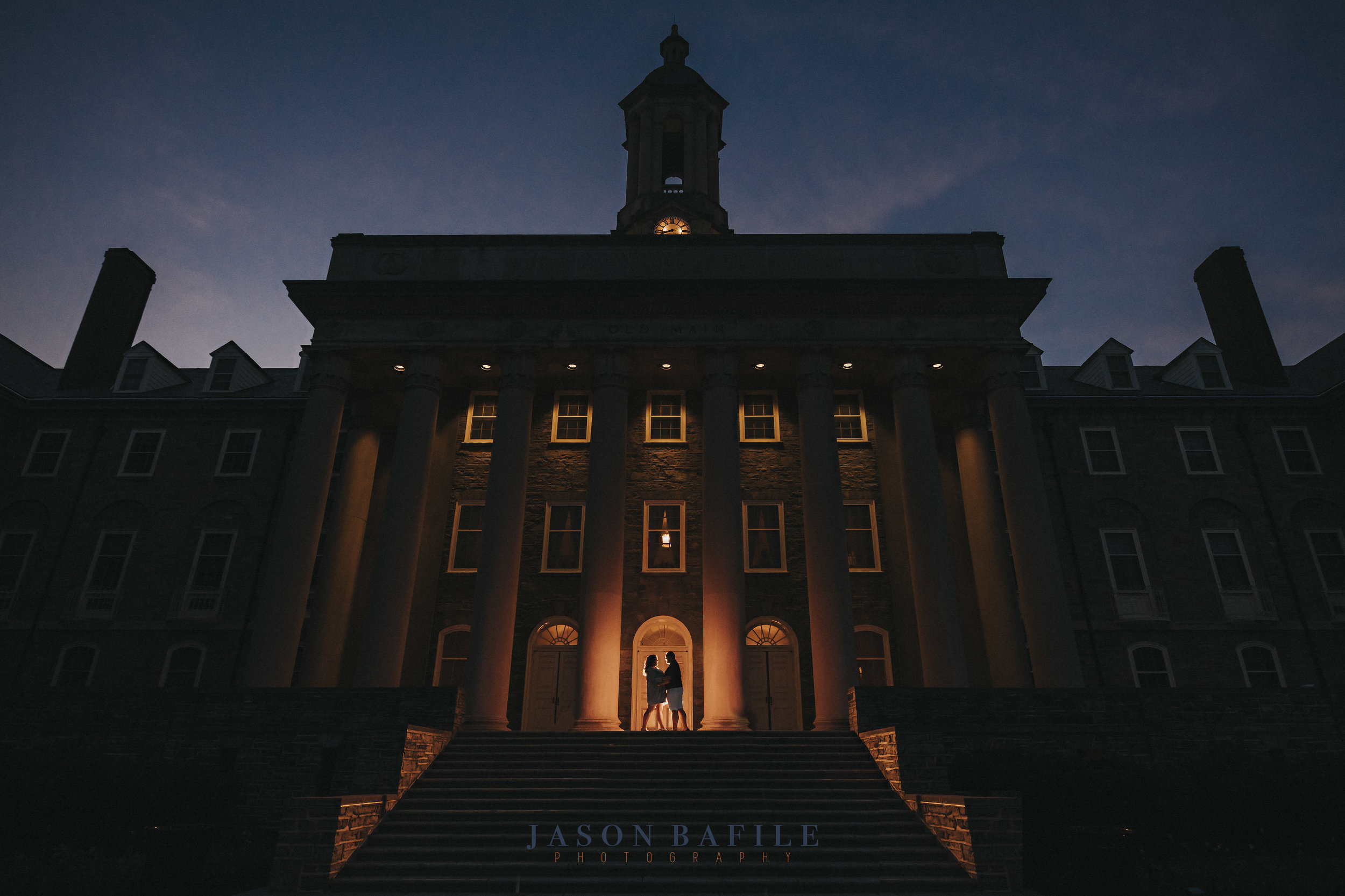 Engagement Photography in State College, PA at Penn State University
