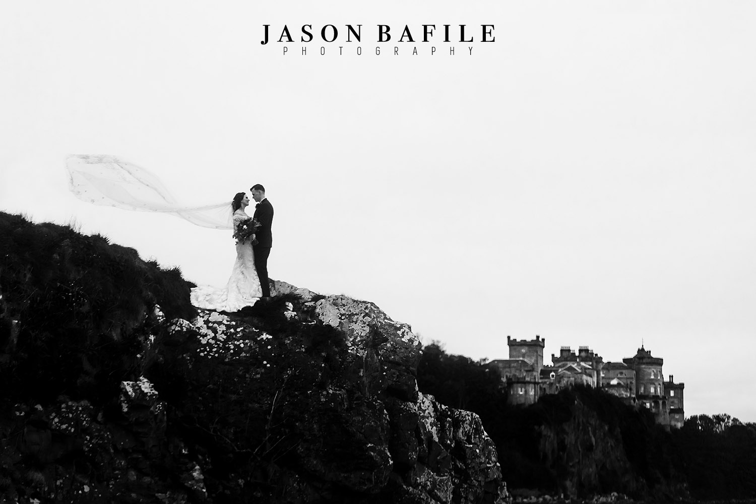 Wedding Photography at Culzean Castle in Scotland.