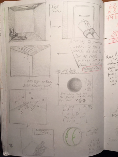 Copy of Intro to game. Story board.