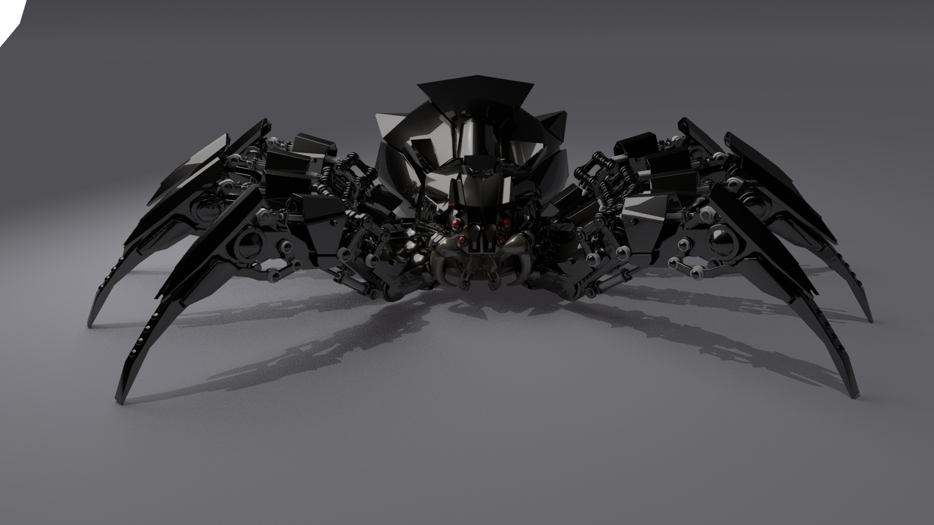 Copy of Security spider in pose