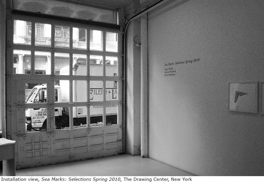 Peter Matthews Sea Marks Drawing Center installation 2.jpg