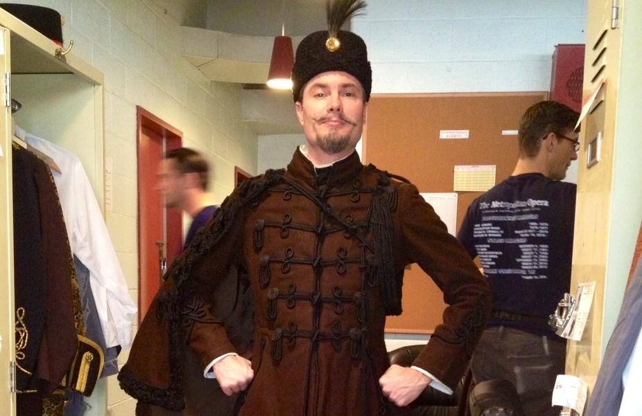 Marc Persing, tenor in the Metropolitan Opera Chorus