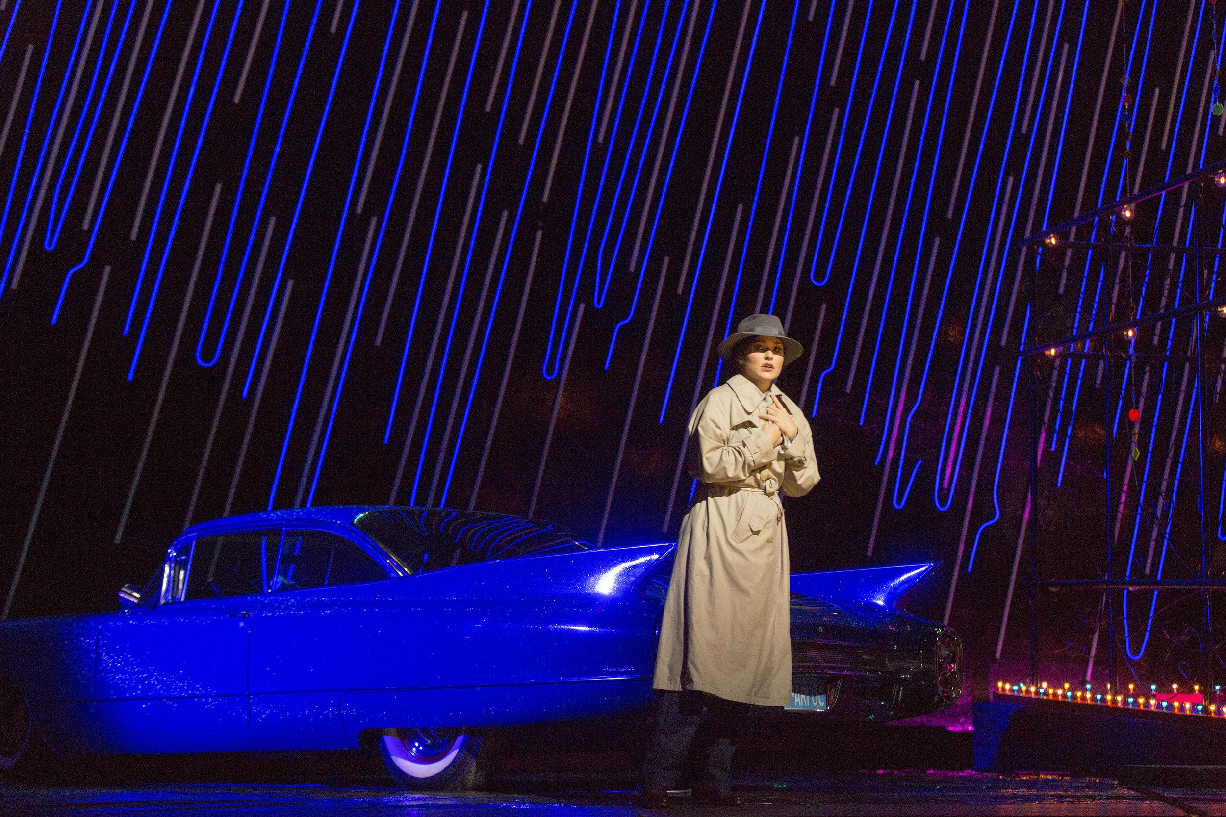 Olga Peretyatko as Gilda in Verdi's Rigoletto. Photo by Richard Termine/ Metropolitan Opera.