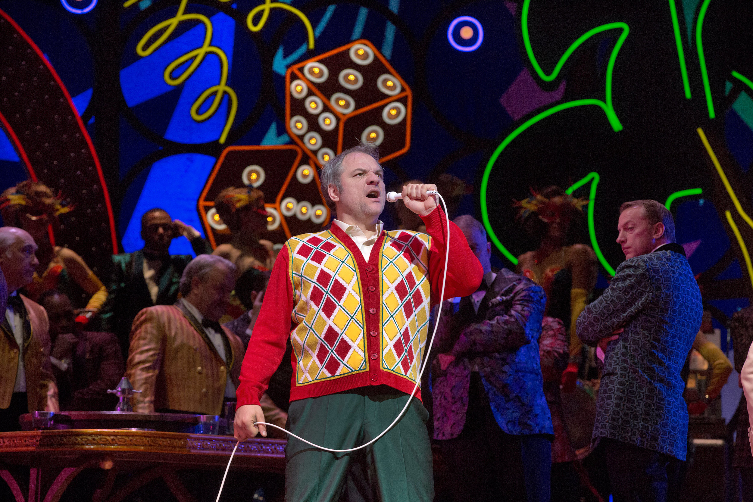 "Željko Lucic as the title character of Verdi's ""Rigoletto.""   Photo: Ken Howard/Metropolitan Opera"