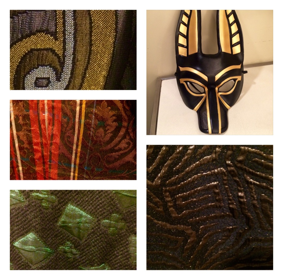 A few of the beautiful patterns onstage during Rigoletto.