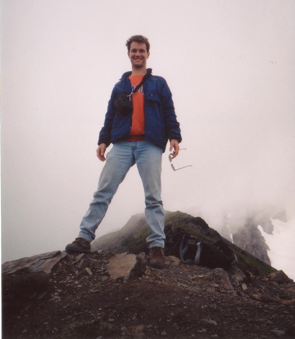Mike, on top of Mt. Juneau in Alaska.