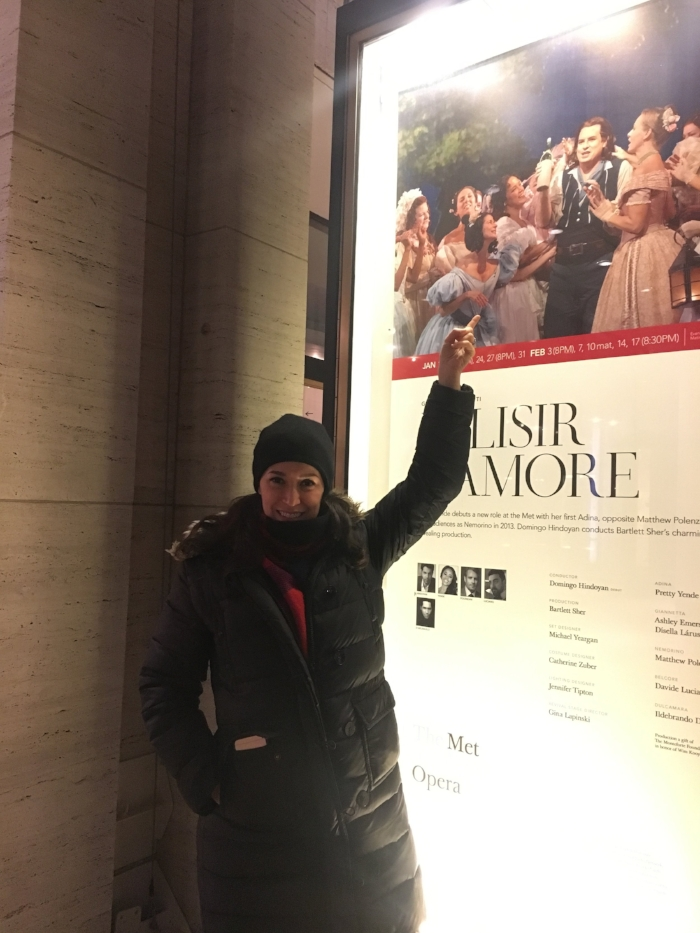 Anne makes the poster outside of the Met fairly frequently. :-)