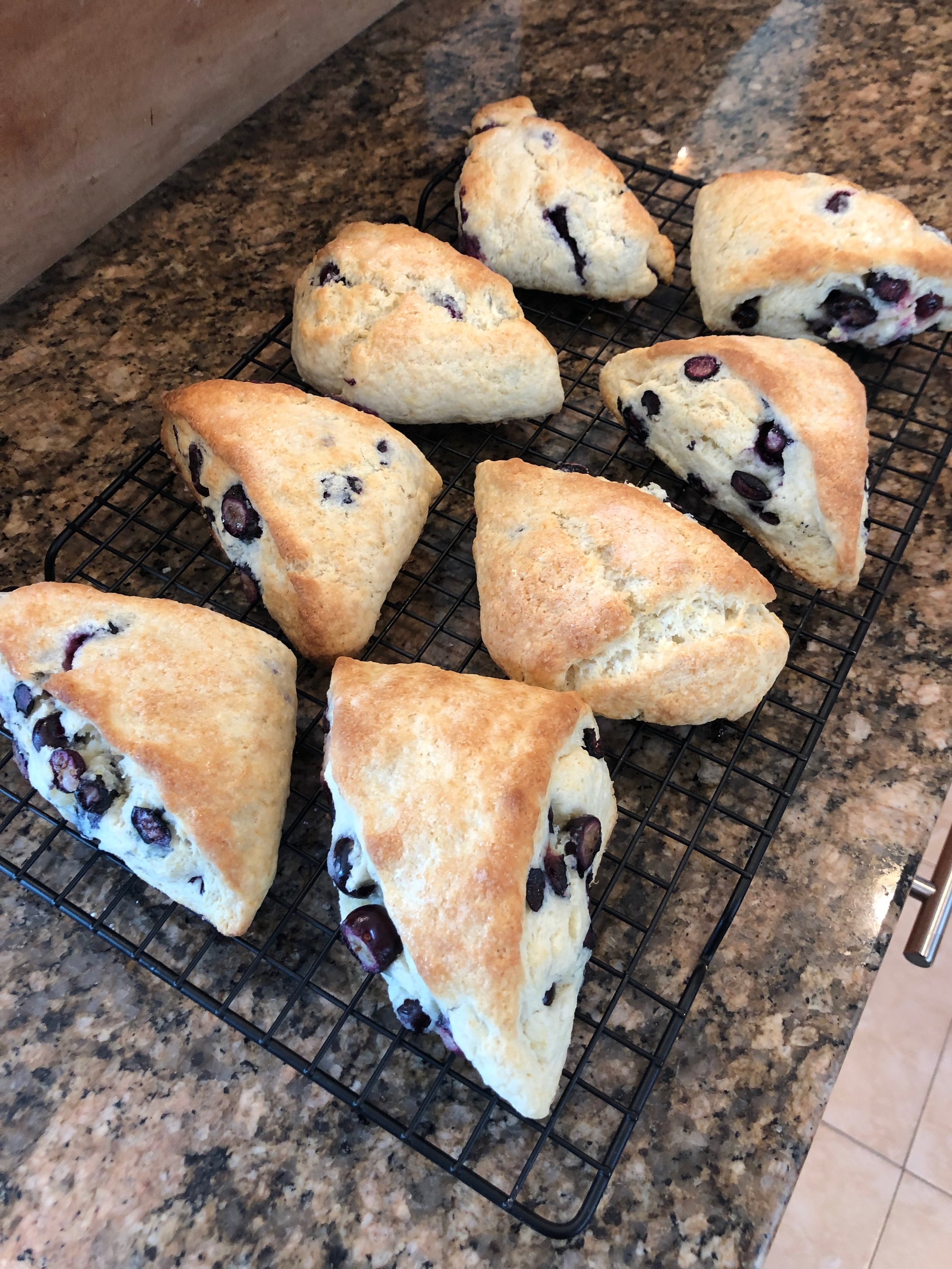Blueberry Scones!