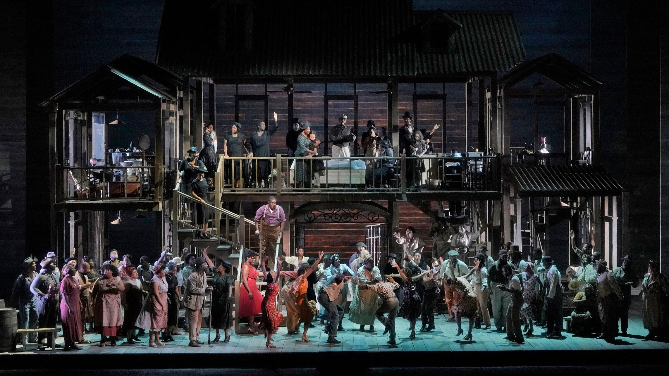 Porgy & Bess on the Met stage. (Photo: Ken Howard.)
