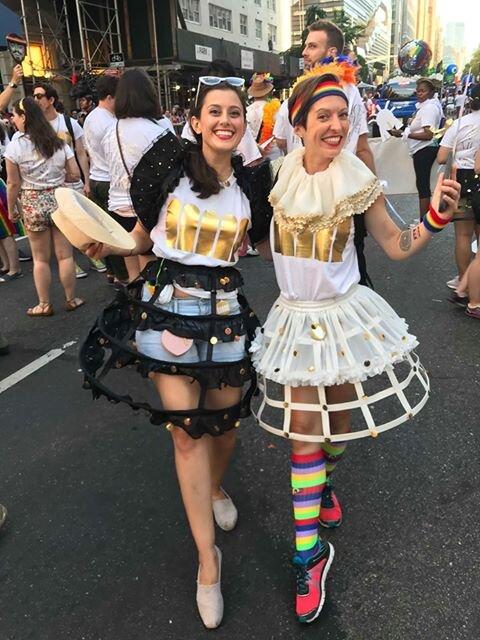 Choristers Megan Pachecano & Lianne Coble-Dispensa