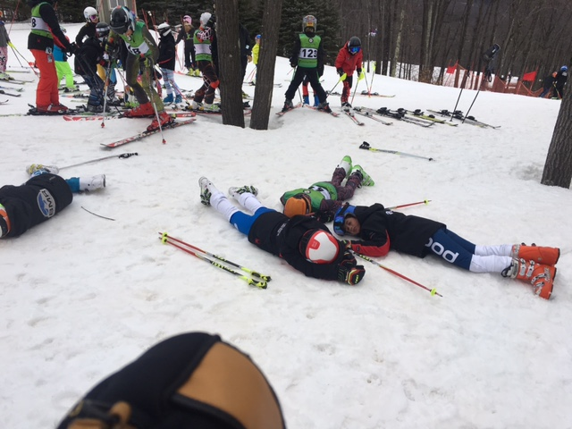 Fwd: Play dead and the other better skiers will leave you alone