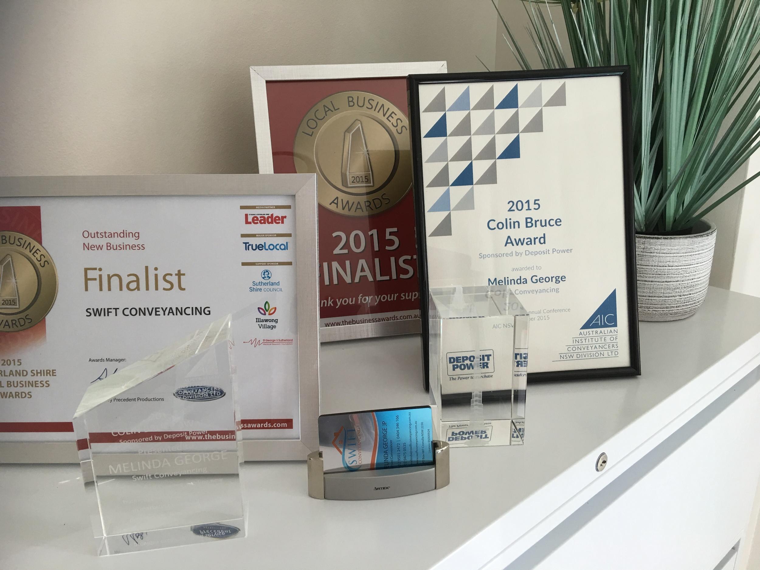 Conveyancing Awards