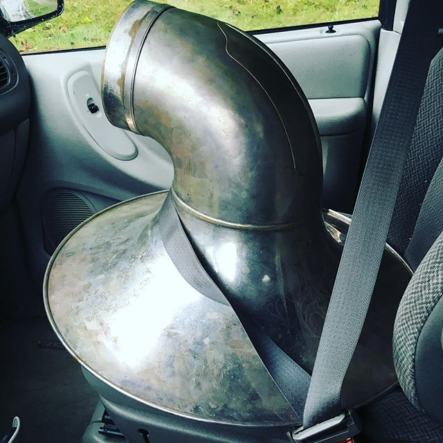 Always keep your sousaphone bell safe! #makeitfunky #soundmakersunion #safetyfirst