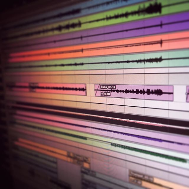 Working on mixing some of our tunes! #soundmakersunion #protools#izotope