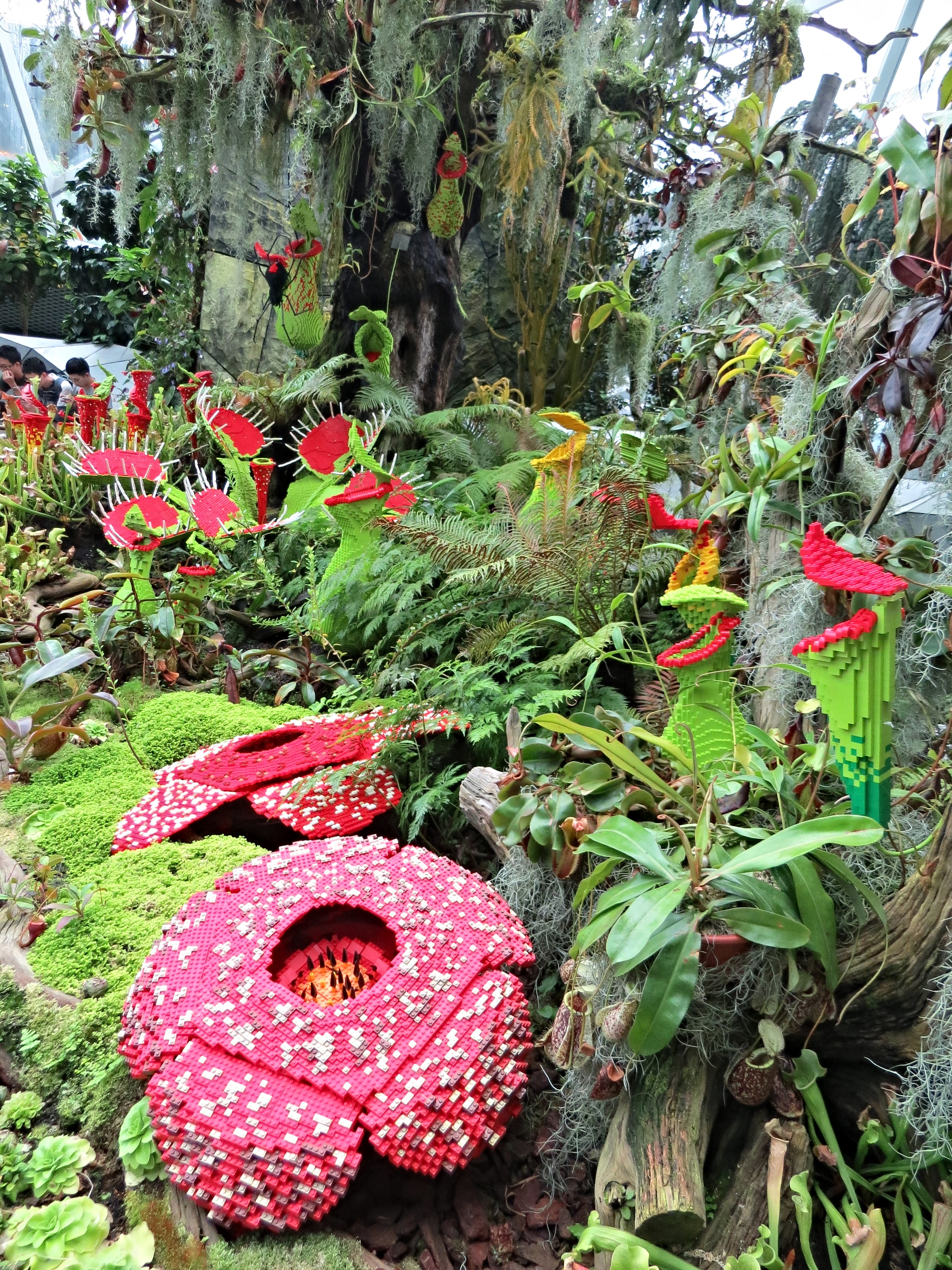 Lego Garden of Carnivorous Plants