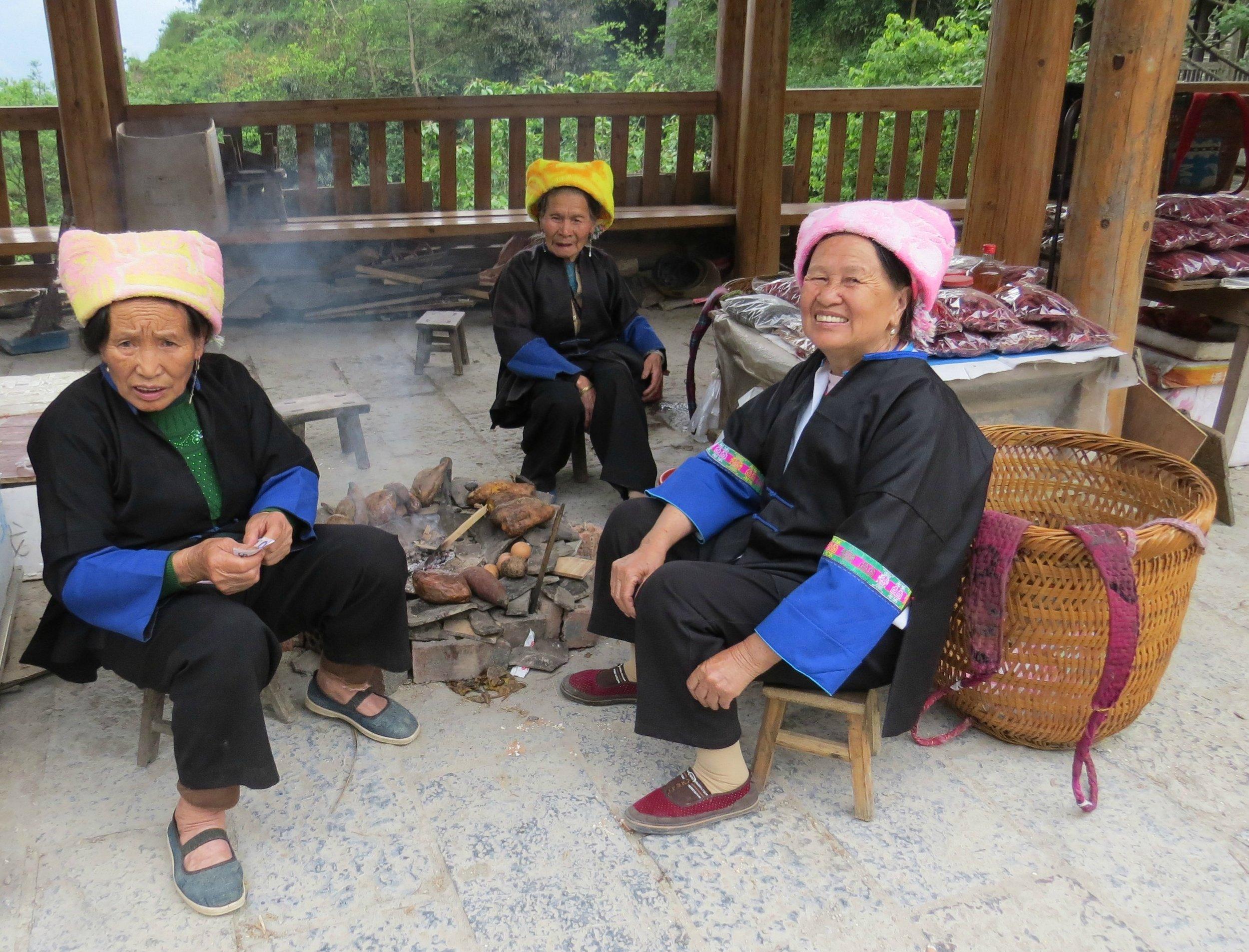 Zhuang Ladies in Ping'an Village