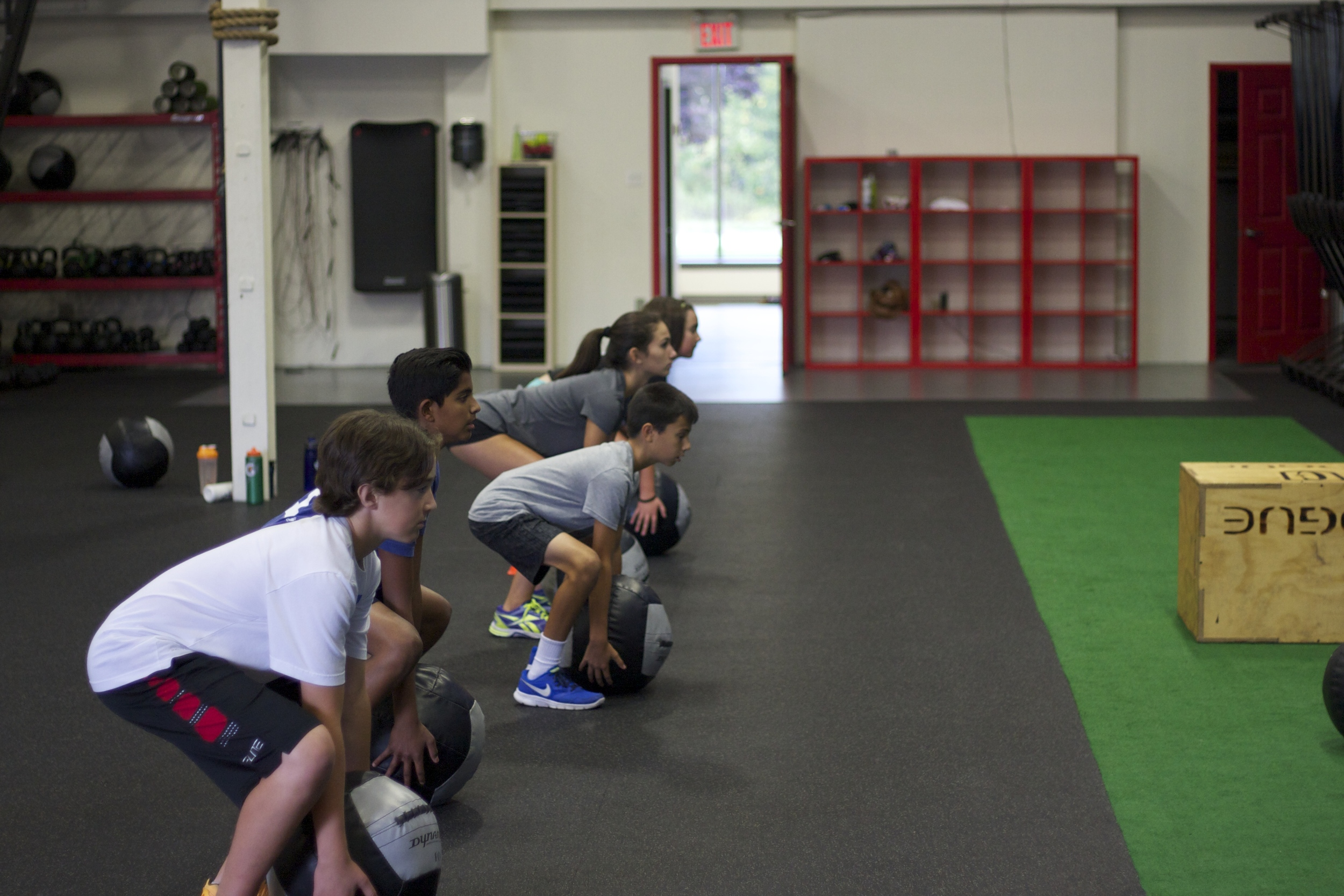 CrossFit COL for teens